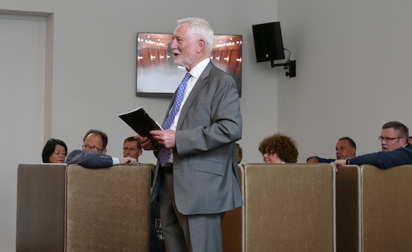 Dr. Herbert Conrad, der seit vergangenem Jahr TAFF-Vorsitzender ist