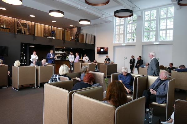 Vorsitzender Conrad bat die Mitglieder um Verständnis für Schwierigkeiten im Vorjahr beim Einzug der Mitgliedsbeiträge.
