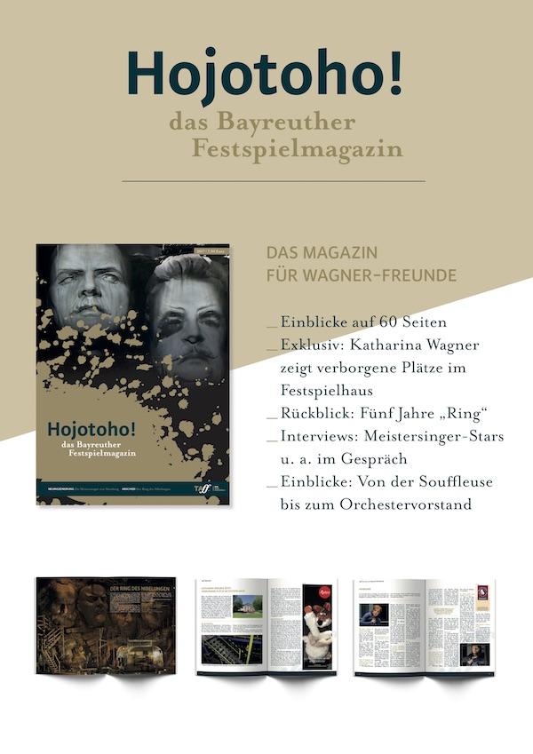Hojotoho - das Bayreuther Festspielmagazin