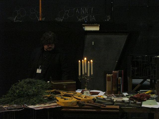 """Bühnenbild und Requisite der """"Meistersinger von Nürnberg"""""""