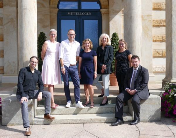 Die Führungsmannschaft von TAFF nach der Wahl am 11. August 2018 am Bayreuther Festspielhaus.